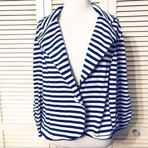 Charlotte Russe   🌺 Striped Soft Blazer